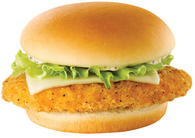 Priced at 99-cents, the Monterey Ranch Crispy Chicken Sandwich joins Wendy's Right Price Right Size(TM) value menu for a limited-time and features premium all-white meat chicken and is topped with Monterey Jack Cheese and Ranch sauce for a unique taste you can only find at Wendy's. Available for a limited time.  (PRNewsFoto/The Wendy's Company)