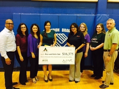 ACE Cash Express Supports Boys and Girls Club with $16,375