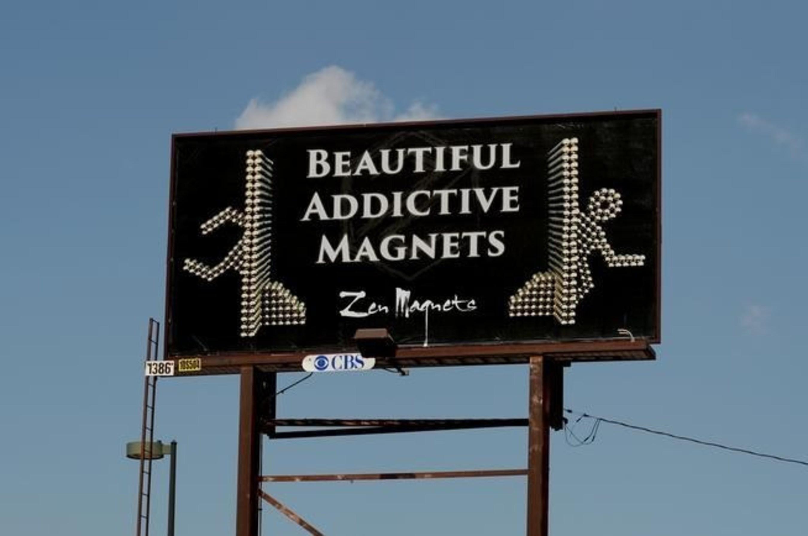 Billboard (PRNewsFoto/Zen Magnets LLC)