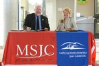 Mt San Jacinto College Superintendent/President Roger Schultz and California State University President Karen Haynes signed an innovative transfer agreement at the Grand Opening of the new Temecula Higher Education (THE) Center on Saturday September 27 (PRNewsFoto/CSUSM)
