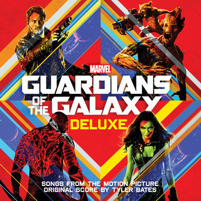 GUARDIANS OF THE GALAXY DELUXE COVER ART