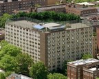 Aerial view of Flushing House, the Independent Living community with over 300 older adults.