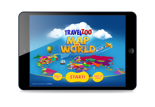 Travelzoo's free Map the World iPad app is designed to inspire children to learn about the world in which ...