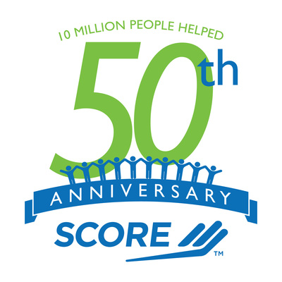 SCORE (www.score.org) to Receive 50th Anniversary Distinction from U.S. Chamber of Commerce's Council on Small Business (PRNewsFoto/SCORE)