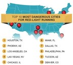 Top 10 Most Dangerous U.S. Cities for Red-Light Running