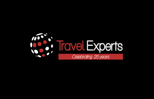 Travel Experts marks the company's 25th anniversary with a new logo.  The refreshed brand image is in tune with the company's evolution and marks the beginning of the yearlong celebration lead by Travel Experts' President Susan Ferrell and her team.  (PRNewsFoto/Travel Experts)