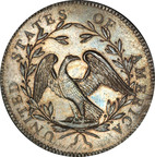 Leading rare coin auctioneer Stack's Bowers Galleries conducted one of the most highly-anticipated events in numismatic history on January 24, 2013, with the sale of the record-setting Cardinal Collection. The highlight of the evening was the $10,016,875 sale of the coveted 1794 Flowing Hair silver dollar, a superb Gem Specimen example, the finest known to exist. This set a new world-record price for any coin. (PRNewsFoto/Stack's Bowers Galleries) (PRNewsFoto/STACKS BOWERS GALLERIES)
