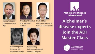ADI MasterClass at Care Expo China to Draw Leading Dementia Experts