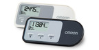 Omron Healthcare Launches New Pedometers, the Omron HJ-320 and HJ-321. Advanced technology offers accurate measurements, can be worn almost anywhere.  (PRNewsFoto/Omron Healthcare, Inc.)