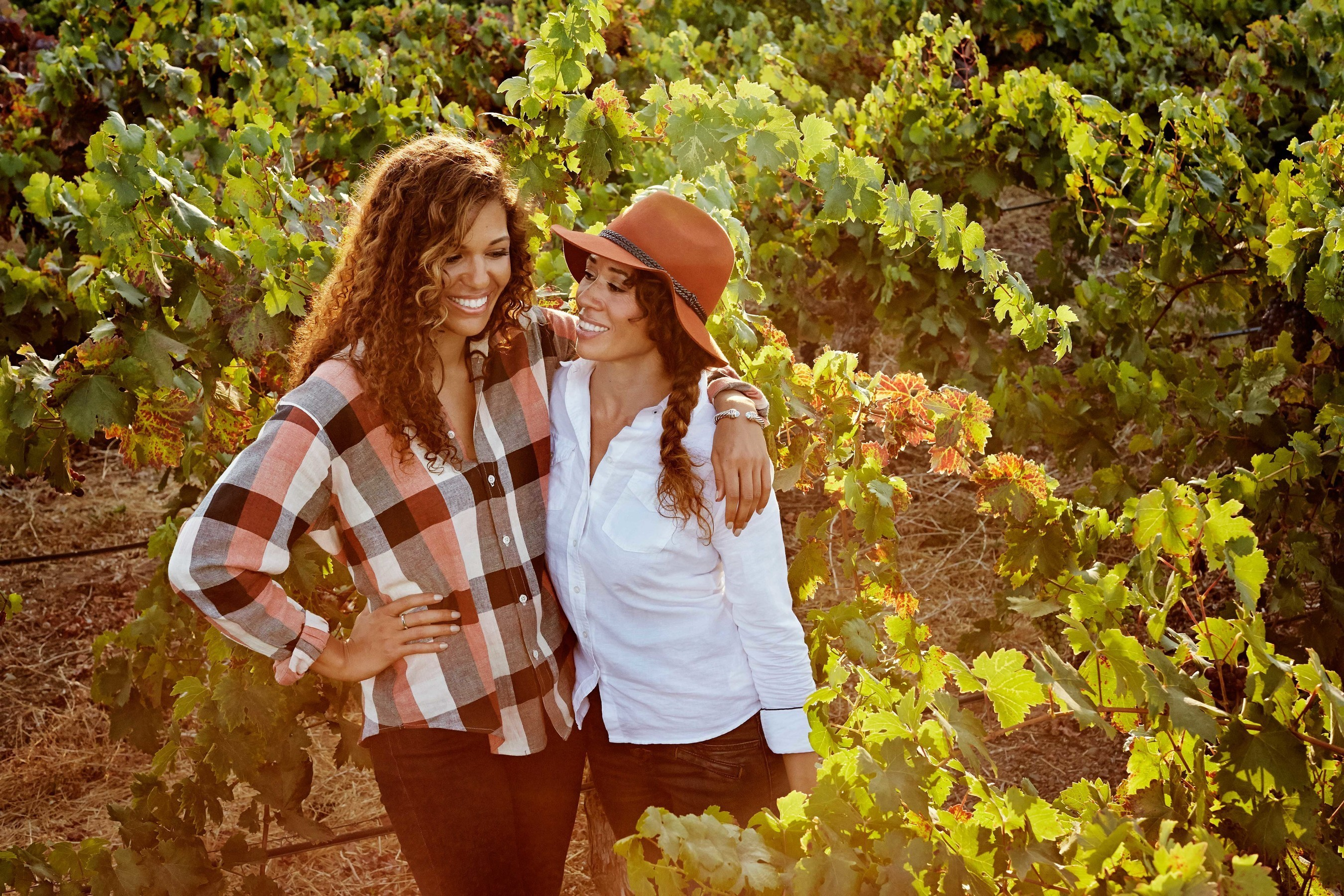 The latest wine release from Diageo Chateau & Estate Wines, Truvee, co-created by sisters' Robin and Andrea McBride.