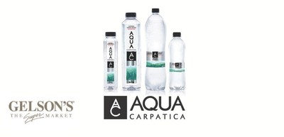 AQUA Carpatica Continues U.S. Expansion with Launch at Gelson's Markets