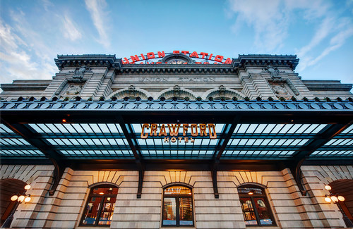 The Crawford Hotel at Denver Union Station - photo credit to Ellen Jaskol (PRNewsFoto/Sage Hospitality)