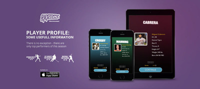 Feature player profile.(PRNewsFoto/Awesome Apps Lab) (PRNewsFoto/AWESOME APPS LAB)
