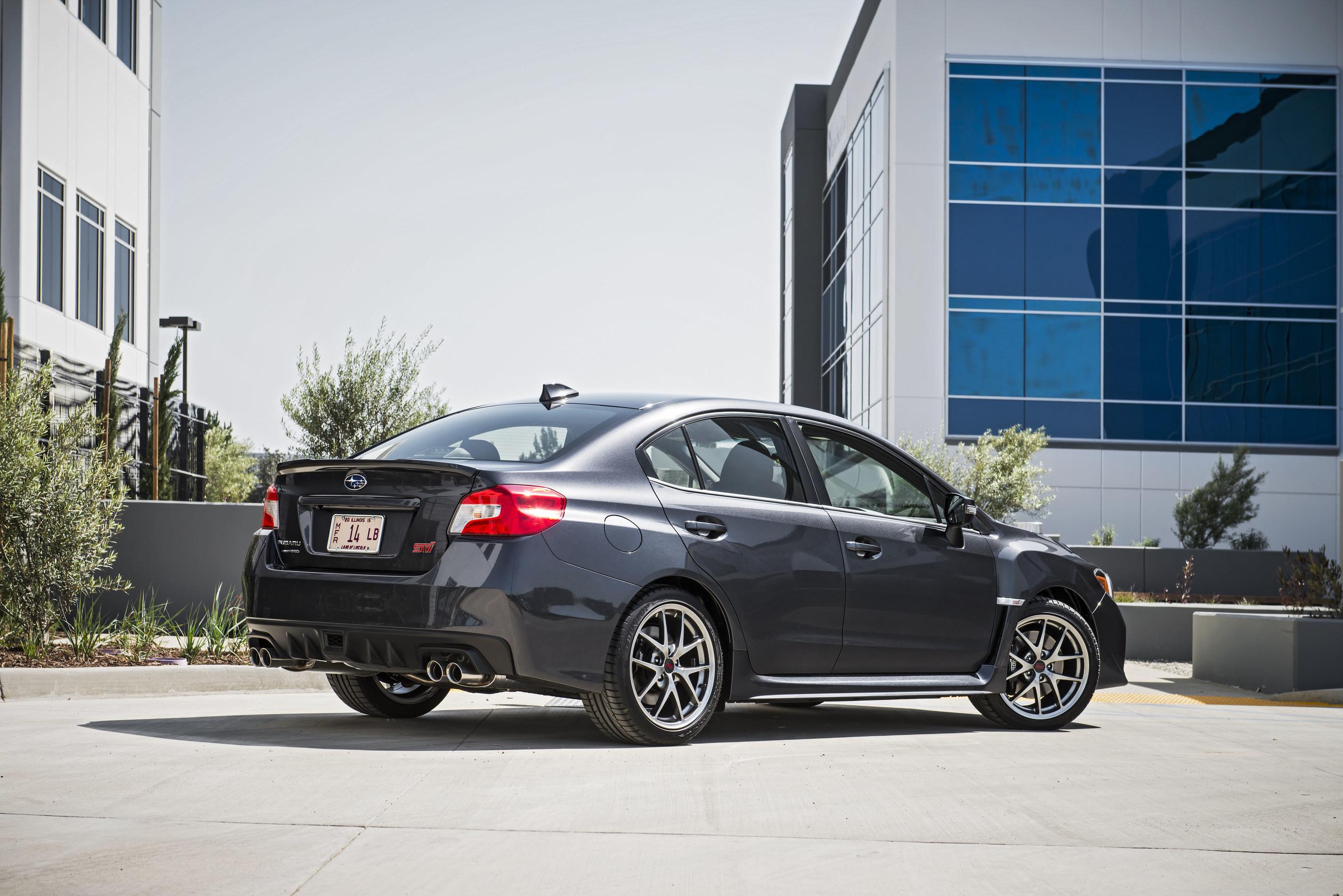 [SCHEMATICS_48DE]  Subaru Introduces 2016 WRX® And WRX STI® Models, Offering EyeSight® Driver  Assist Technology And Subaru STARLINK™ Infotainment | 2016 Subaru Wrx Without Wing |  | PR Newswire
