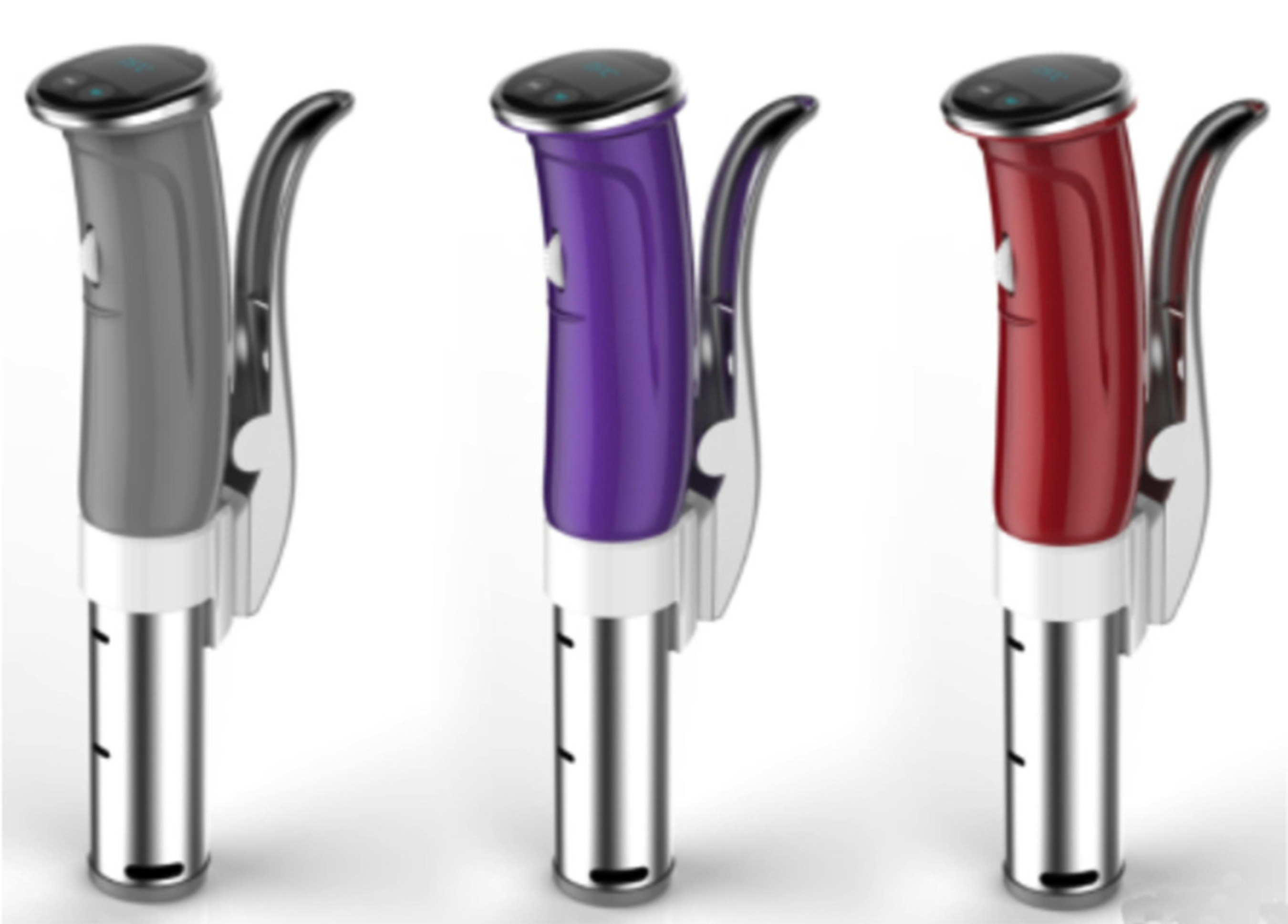 Gourmia's new Wi-Fi and Bluetooth-enabled Sous Vide pod will include a mobile app with recipes from Jason Logsdon of ModernistCookingMadeEasy.com.
