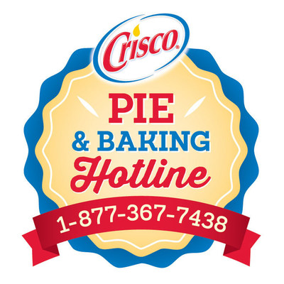 Where There's A Whisk There's A Way - The Crisco(R) Pie & Baking Hotline Is Back! (PRNewsFoto/The J.M. Smucker Company)
