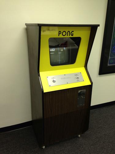 original pong machine