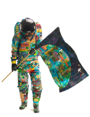 HOPE: Space Suit Art Project increases awareness of childhood cancers