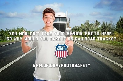 Union Pacific's High School Photo Safety Campaign Named 2016 Telly Awards Winner