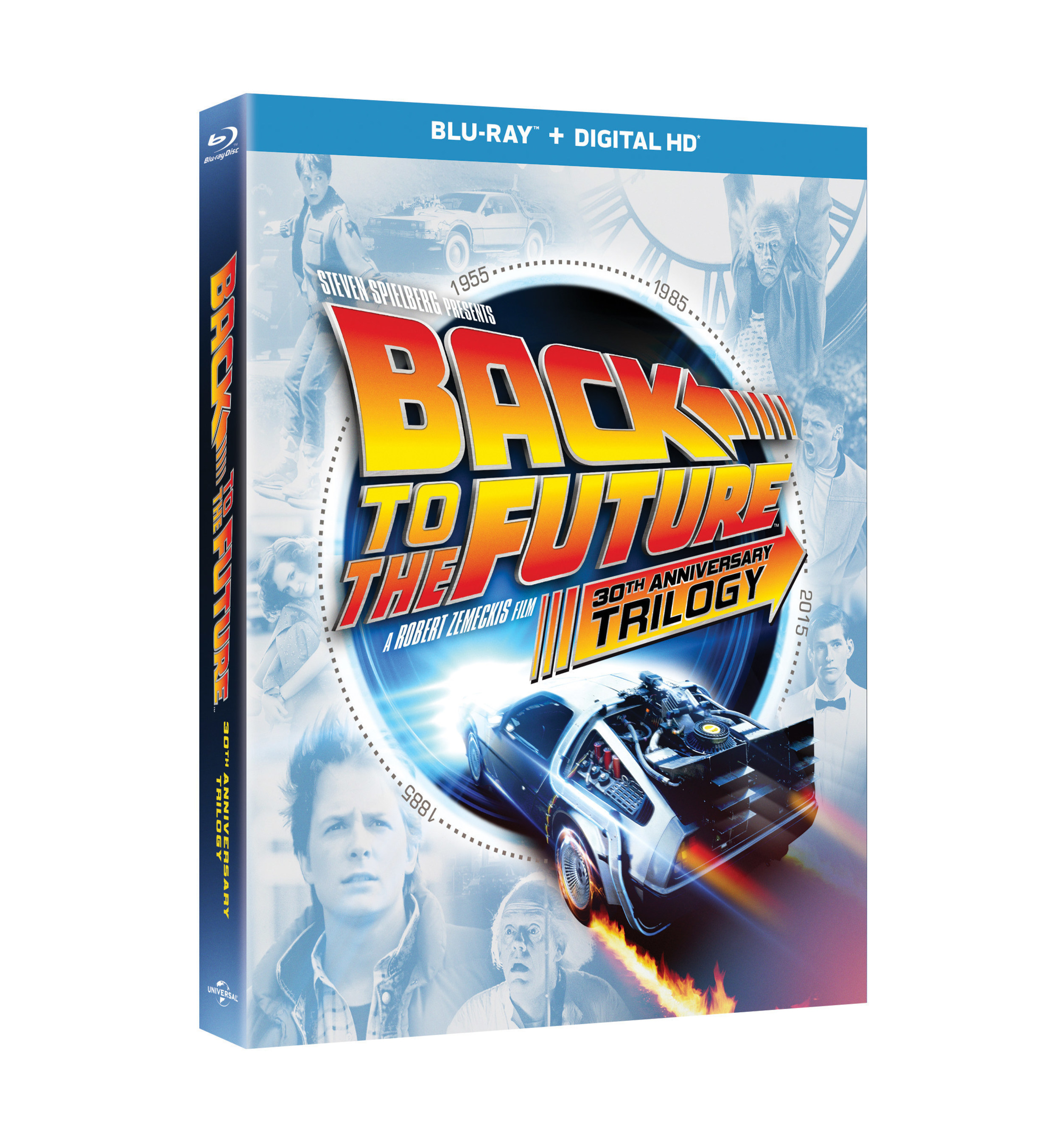 From Universal Pictures Home Entertainment: BACK TO THE FUTURE 30th ANNIVERSARY TRILOGY