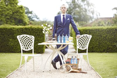 Winner, Remy Savage, from France crowned as Bombay Sapphire's Most Imaginative Bartender 2014, in London.