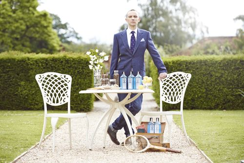 Winner, Remy Savage, from France crowned as Bombay Sapphire's Most Imaginative Bartender 2014, in London. ...