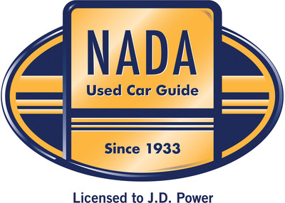 NADA Used Car Guide(R) and its logo are registered trademarks of National Automobile Dealers Association, used under license by J.D. Power and Associates.