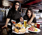 Rock & Brews co-founding partners Gene Simmons and Paul Stanley of KISS.