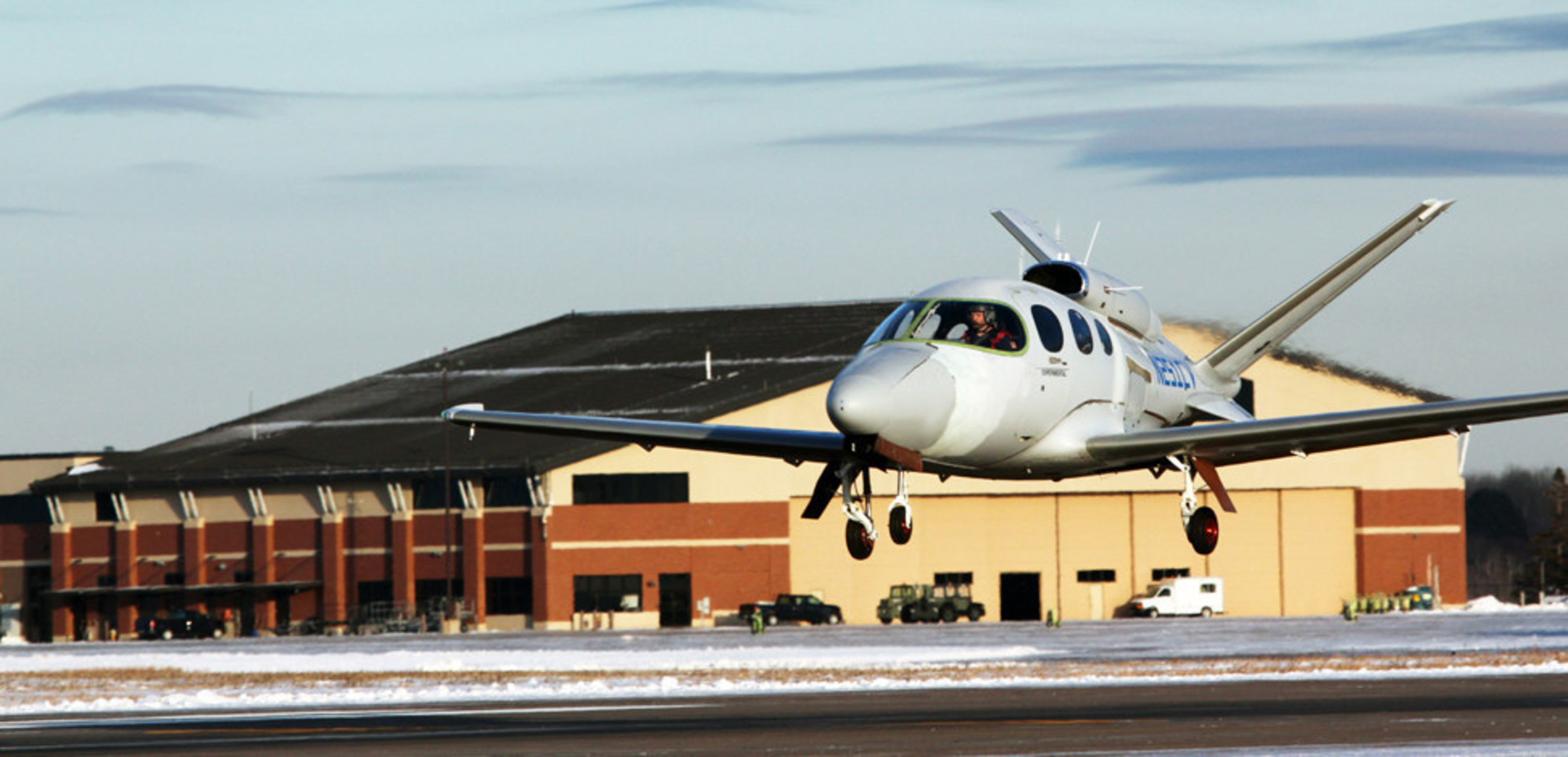 Cirrus flies first production Vision SF50 personal jet