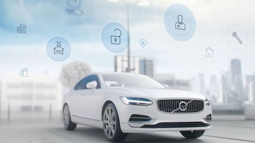 Volvo plans to deliver a wide range of concierge services with its smartphone app. (PRNewsFoto/Volvo Car Group)