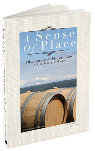 A Sense of Place Book Cover.  (PRNewsFoto/Villa Bellangelo Winery)