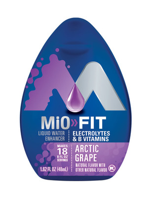 MiO Fit Arctic Grape.  (PRNewsFoto/Kraft)