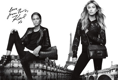 KARL LAGERFELD Paris Launches in North America With Unveiling of Fall 2016 Advertising Campaign, Love From Paris, Karl xx