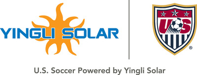 Yingli Solar and U.S. Soccer Debut New Composite Logo.  (PRNewsFoto/Yingli Green Energy Holding Company Limited)