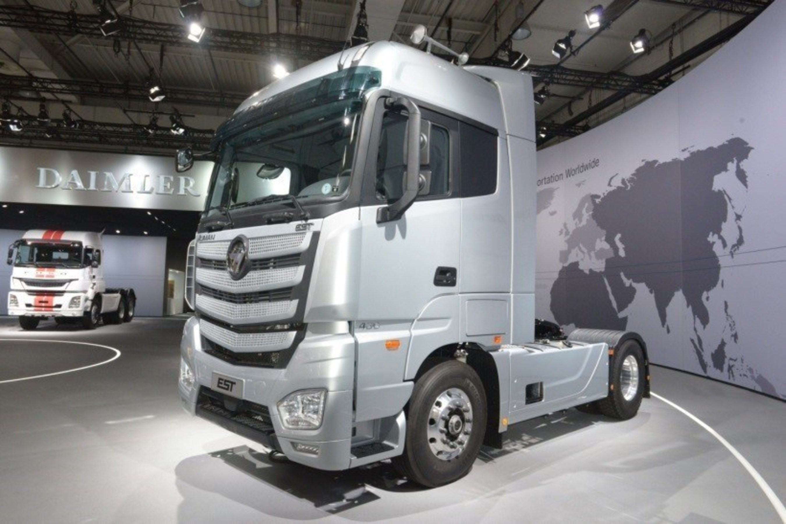 Foton Auman EST Super Truck Making Debut on IAA Commercial Vehicles in Hannover