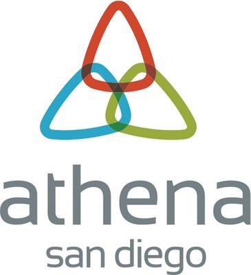 Athena San Diego Logo.  (PRNewsFoto/Athena San Diego)