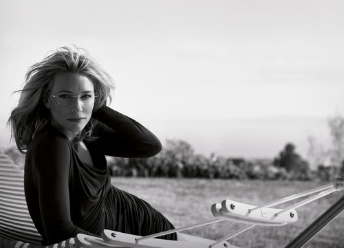 Cate Blanchett is Face of Silhouette's Icon for an Icon Campaign. (PRNewsFoto/Silhouette) ...