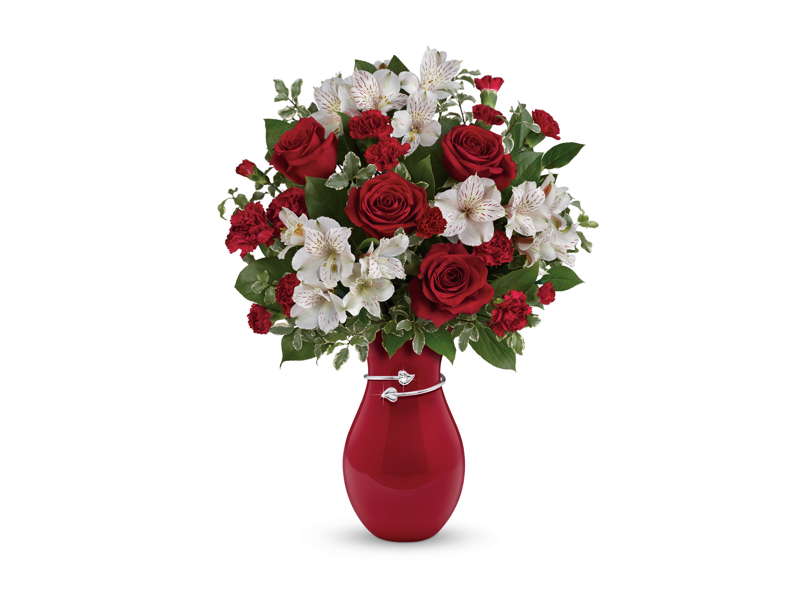 Teleflora's NEW Pair of Hearts Bouquet. Photo courtesy of Teleflora.