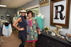 """Amber Lawson (left) and Sherri Merrill are owners with Sheila Nicholson (not pictured) of Reverie Boutique in Waynesboro, Mississippi. The popular clothing store, which features upscale fashions for women and children, worked with First State Bank and the Federal Home Loan Bank of Dallas to purchase a building and make renovations. """"We're wanting to redo more, but it's hard to find the time to close for the remodeling,"""" Ms. Nicholson said. """"Business is going really well."""""""