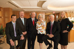 The Godwin Lewis PC attorneys recognized in the 2015 edition of The Best Lawyers in America include, from left, Lon Loveless, firm President R. Alan York, Chairman and CEO Donald E. Godwin, Managing Shareholder and COO Marilea Lewis, George R. Carlton Jr. and Carolyn R. Raines. (PRNewsFoto/Godwin Lewis PC)