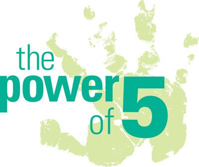 Nutrilite Power of 5 Logo (PRNewsFoto/Amway)