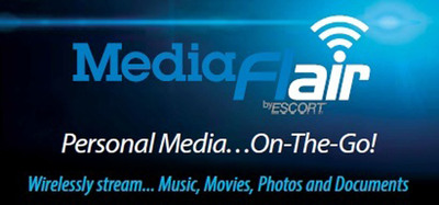 MediaFlair Logo.  (PRNewsFoto/ESCORT Inc.)