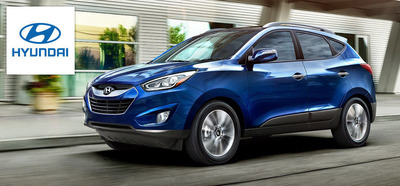 Drivers can get SUV strength with sports car class in the 2014 Hyundai Tucson. (PRNewsFoto/Hesser Hyundai)
