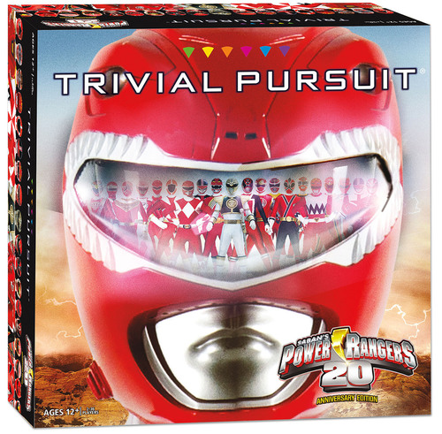 Trivial Pursuit Power Rangers 20th Anniversary Edition.  (PRNewsFoto/Saban Brands)