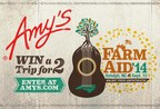Win a Trip for Two to Farm Aid 2014 (PRNewsFoto/Amy's)