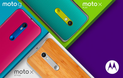 Find Your Perfect Moto Match with the All-New Moto G, Moto X Play and Moto X Style