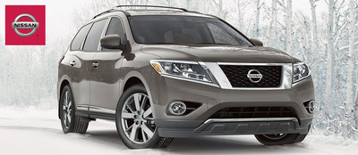 Consumers concerned about fuel efficiency are sure to appreciate that the 2014 Nissan Pathfinder is now available with a hybrid powertrain.  (PRNewsFoto/Robbins Nissan)