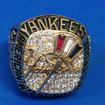Ten New York Yankees Rings of Legenary Felix Lopez to be sold by Hess Fine Art