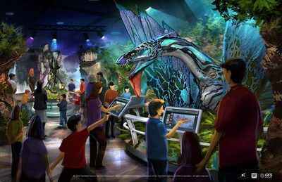 Rendering of Avatar Discover Pandora, Opening in Taipei, Taiwan on December 7th