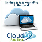 It's time to take your office to the cloud with Cloud9 Real Time.  (PRNewsFoto/Cloud9 Real Time)